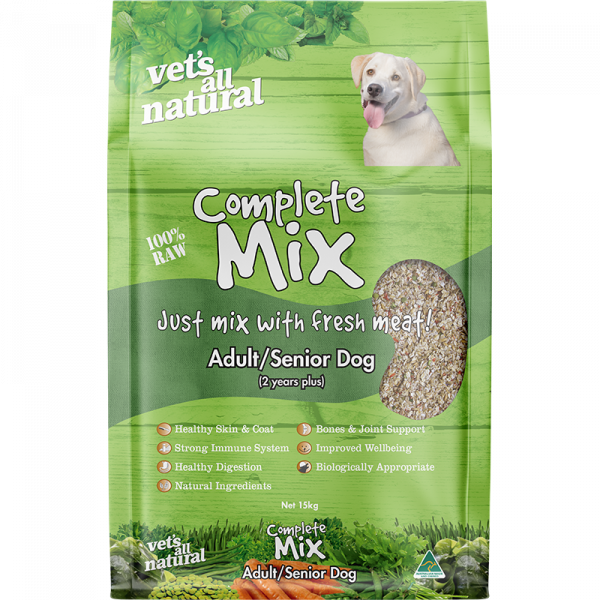 Vet's All Natural Complete Mix Adult/Senior Dogs