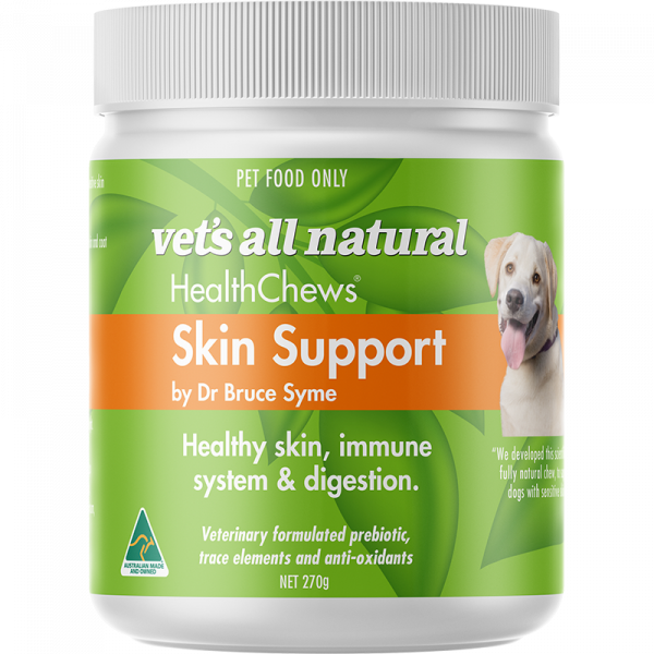 Vet's All Natural Skin Support health chews